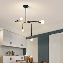 Modern Pastoral Droplights Home Indoor Lighting Nordic Pendant Lights Minimalist Restaurant Light 4
