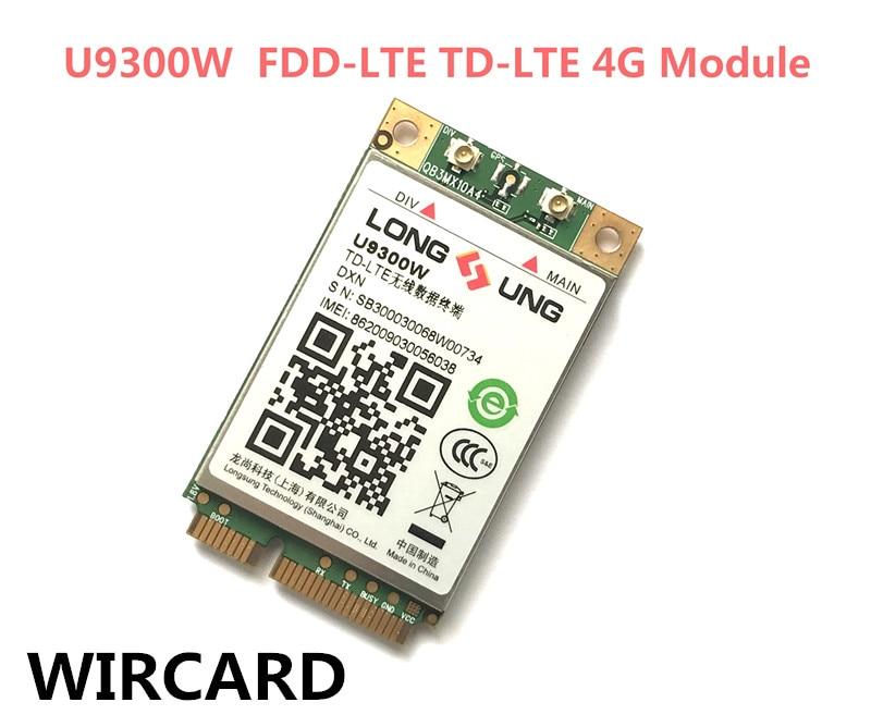 U9300W 4G Module FDD-LTE TD-LTE 4G Card
