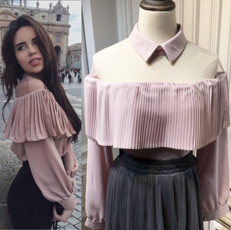 Blusas Femininas Limited Real Polyester Fashion font b Women b font Tops Body 2017 font b