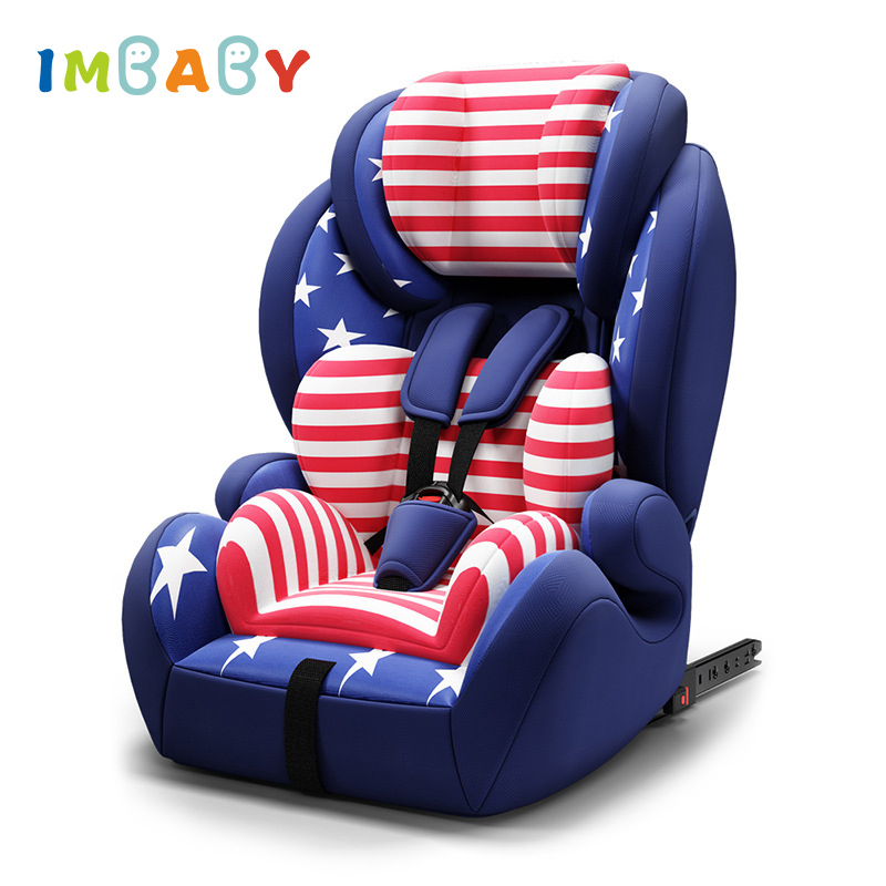 IMBABY ISOFIX Baby Car Seat Child Safety Car Seats Baby Chair For Auto Car Sit Baby Isofix Car Seat For 9 Month~12 Years Old 3 color baby kid car seat child safety car seat children safety car seat for 9 months 12 year old 3c certification