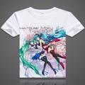 Vocaloid Hatsune Miku 7th Dragon T-shirt Short Sleeve Fashion Cartoon T shirt  Men/women Tees