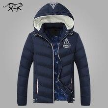 2016 neue Ankunft Marke Kleidung herren Jacken und mäntel Casual Mens Parkas Verdicken Warmen Mantel für Männer Mit Kapuze Winterjacke männer