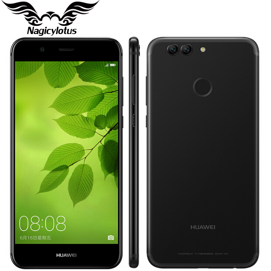 Original Huawei Nova 2 plus 4G LTE 5.0 inch 1920*1080 p Mobile Phone Kirin 659 Octa Core Android 7.0 4GB 128GB Dual Rear Camera