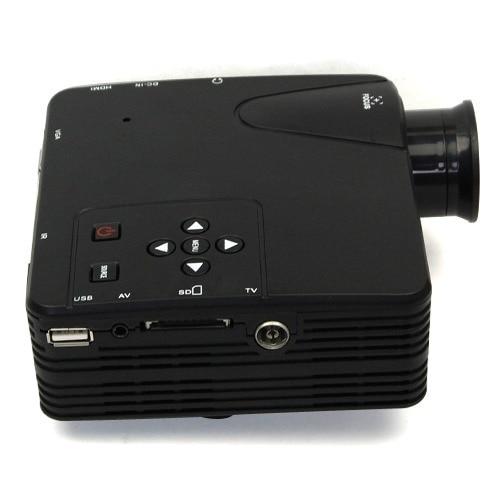 New 2016 top HD 1080P Multimedia Mini LCD Projector Home Theater Cinema AV TV VGA HDMI USB SD projector free shipping