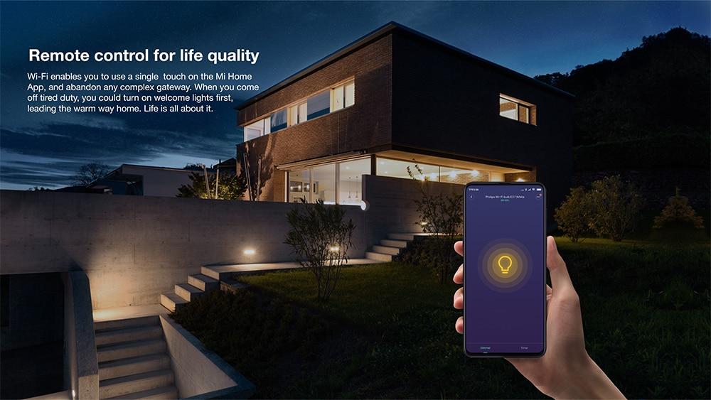 Xiaomi Philips Smart WiFi LED Bulb White E27 8