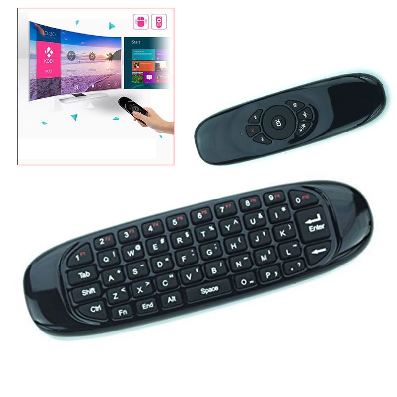 Hot Smart Cool 2.4G Mini Flying Air Mouse Portable Wireless Handheld Keyboard Gyroscope Remote Controller 3D Q99 SL@88