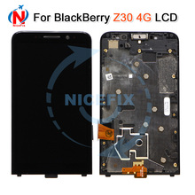For Blackberry Z30 4G LCD Display With Touch Screen Digitizer Assembly With Frame Replacement Parts For BlackBerry Z30 LCD
