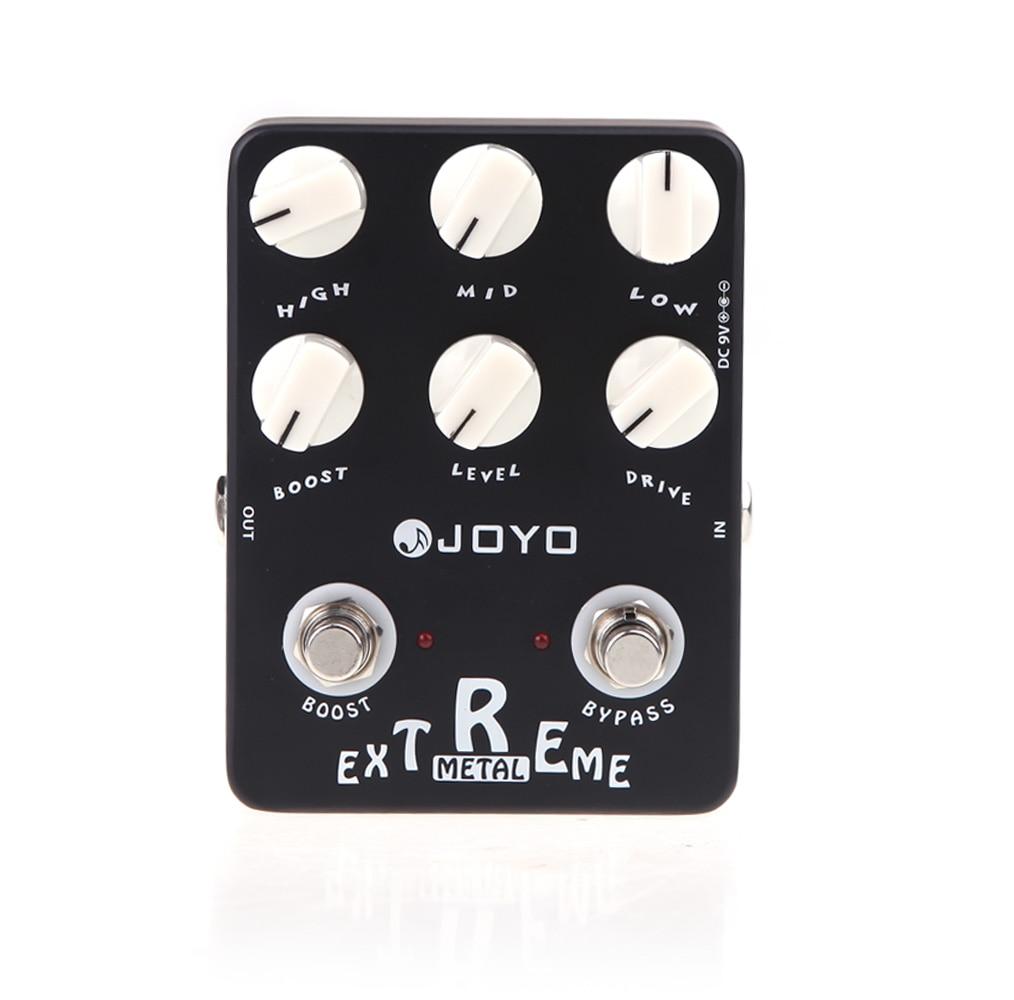 JOYO JF 17 Extreme Metal Guitar Effect Pedal Distortion Effect Guitar Pedal True Bypass Guitar Accessories