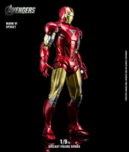 King Arts 1/9 Scale DFS021 Iron Man MK6 Mark6 Diecast Action Figure Series Gifts for Collection Collective Model Toy