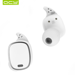 QCY T1 Pro TWS Bluetooth Earphones Touch Control Wireless Headsets Mini Invisible Earbuds with Mic and 750mAh charging case