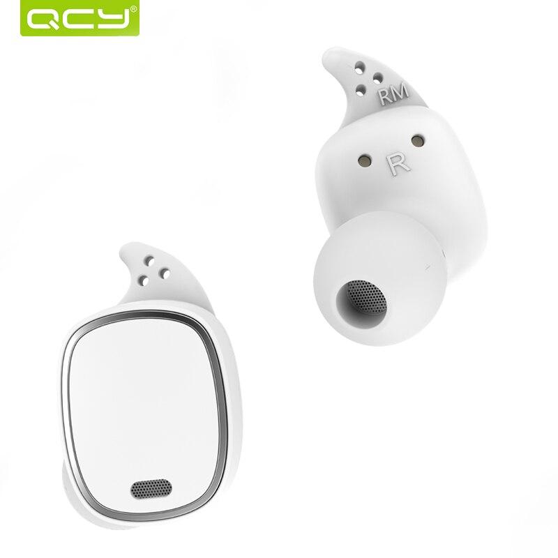 QCY T1 Pro TWS Bluetooth Écouteurs Tactile Contrôle Sans Fil Casques Mini Invisible Écouteurs avec Micro et 750 mAh cas de charge