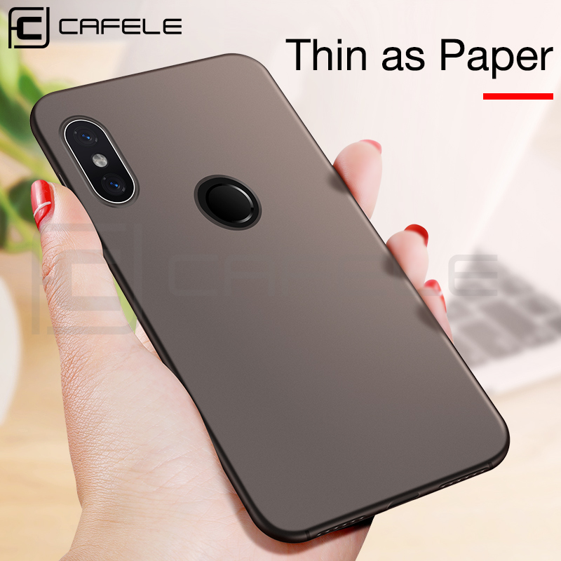 Cafele Matte TPU Case for Xiaomi Redmi Note 6 Pro Ultra thin 0.4mm Soft Case Cover for Xiaomi Redmi Note 6 Pro Case