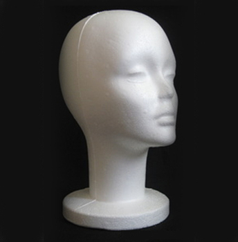 1Pc 26.3*53cm Styrofoam Foam Mannequin Head Model Hat Wig Glasses Display Stand Rack for Cap Headphones Hair Accessories mannequin