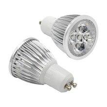 Lâmpada regulável de alta potência 110v 220v gu10 led lâmpada 9w 12 15w led spotlight quente/frio branco gu10 lâmpada substituir a luz do halogênio