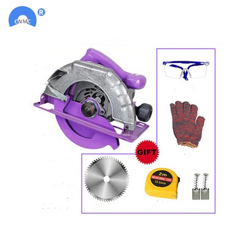 цена на 7Inch 8Inch 10inch Saw Tool Electric Circular Saw Blades Cutting Discs Mandrel Cutter Power Tools Dremel Accessories