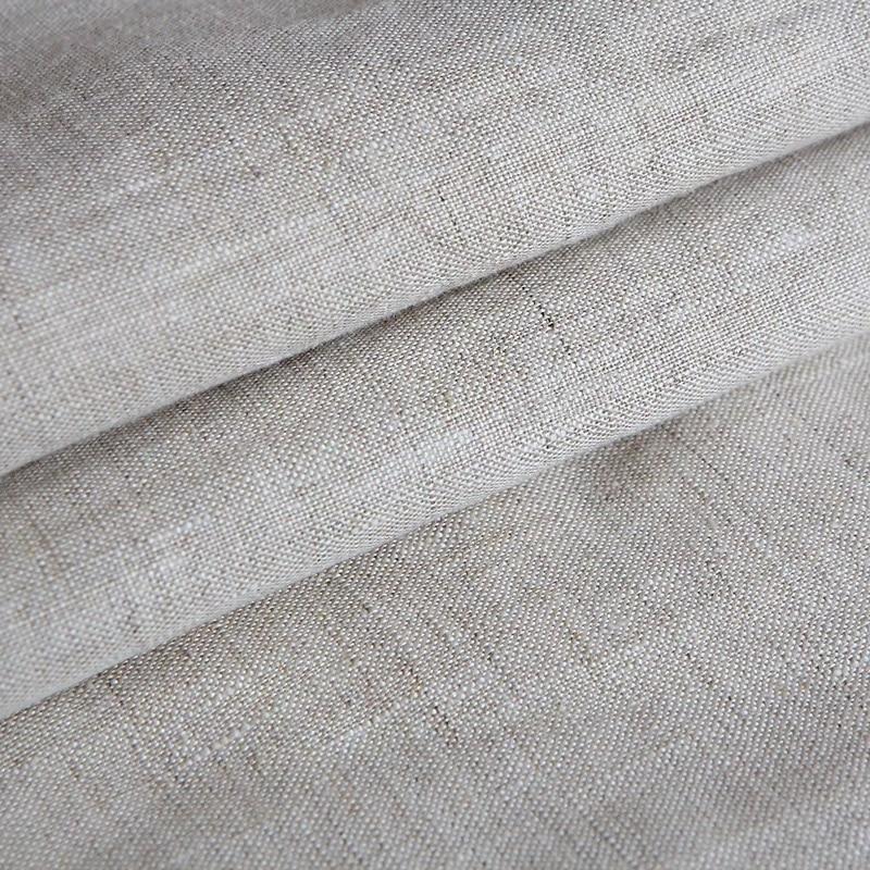 100/% Tela De Confección De Lino 100/% lino fino de Chambray-Limoncillo Lima