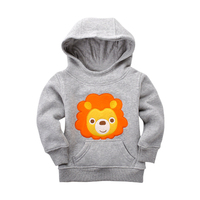 12M 5T Autumn Winter Baby Boys Girls Hooded Cost Cartoon Thicken Warm Baby Boy Clothes Football