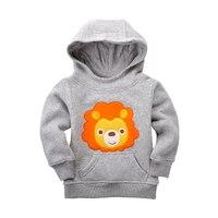 12M 5T Autumn Winter Baby Boys Girls Hooded Cost Cartoon Thicken Warm Baby Boy Clothes Football