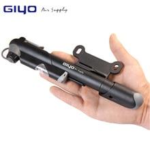 Giyo AV/fv Клапан велосипед насос адаптеры MTB дорожный Велосипедные насосы с манометром мини Велоспорт насос Presta Шрейдер шин Велосипедный Спорт надувное