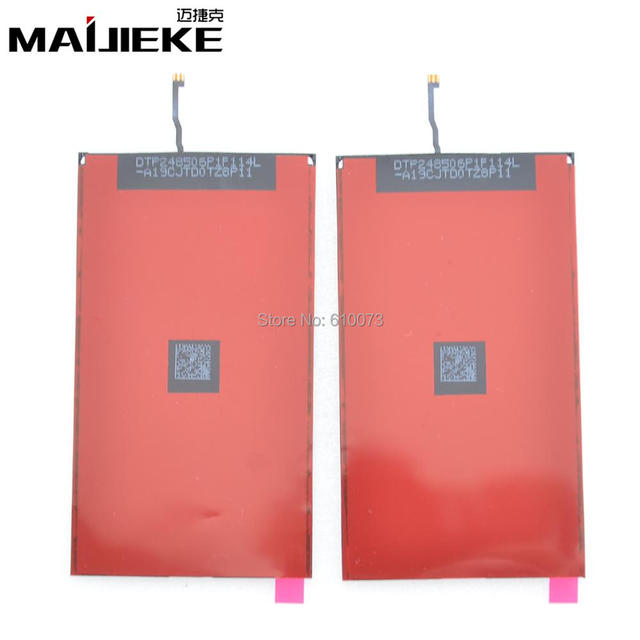 10PCS MAIJIEKE LCD Display Backlight Film For iPhone 5G 5S 5C Back Light Refurbishment Repair Parts