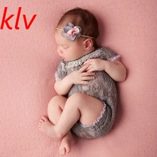Newborn Baby Girls Tulle Embroidery Lace Rompers Bloomer Infant Photography Props Jumpsuits New