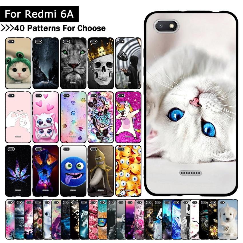 Phone-Case Fundas Back-Cover Xiaomi Silicone 6A for Redmi TPU