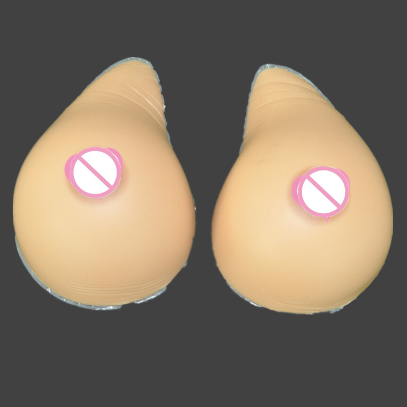 Topleeve 4600g/pair Huge False breast Artificial Breasts Silicone Breast Forms Fake boobs realistic silicone breast forms