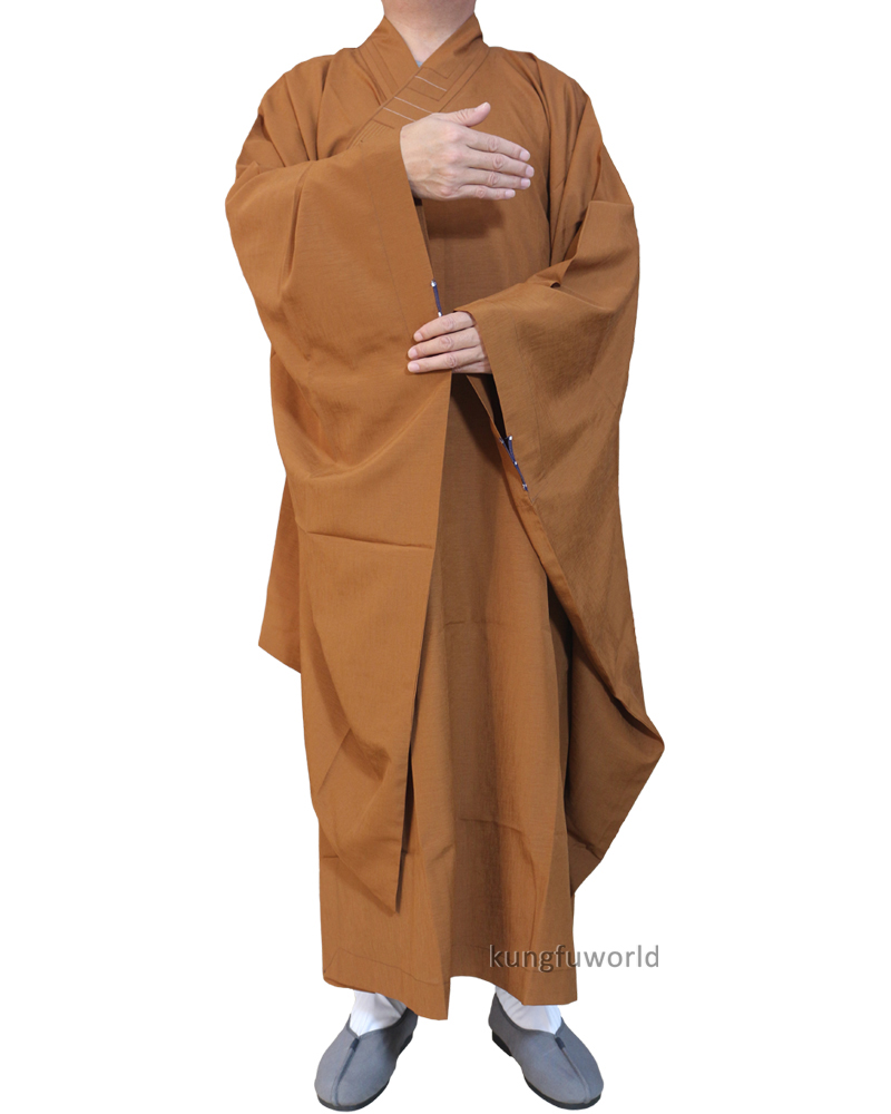 c975f3987 Extra wide Sleeves Buddhist Monk Dress Haiqing Robe Zen Masters Gown  Shaolin Kung fu Suit Meditation Uniform on Aliexpress.com | Alibaba Group