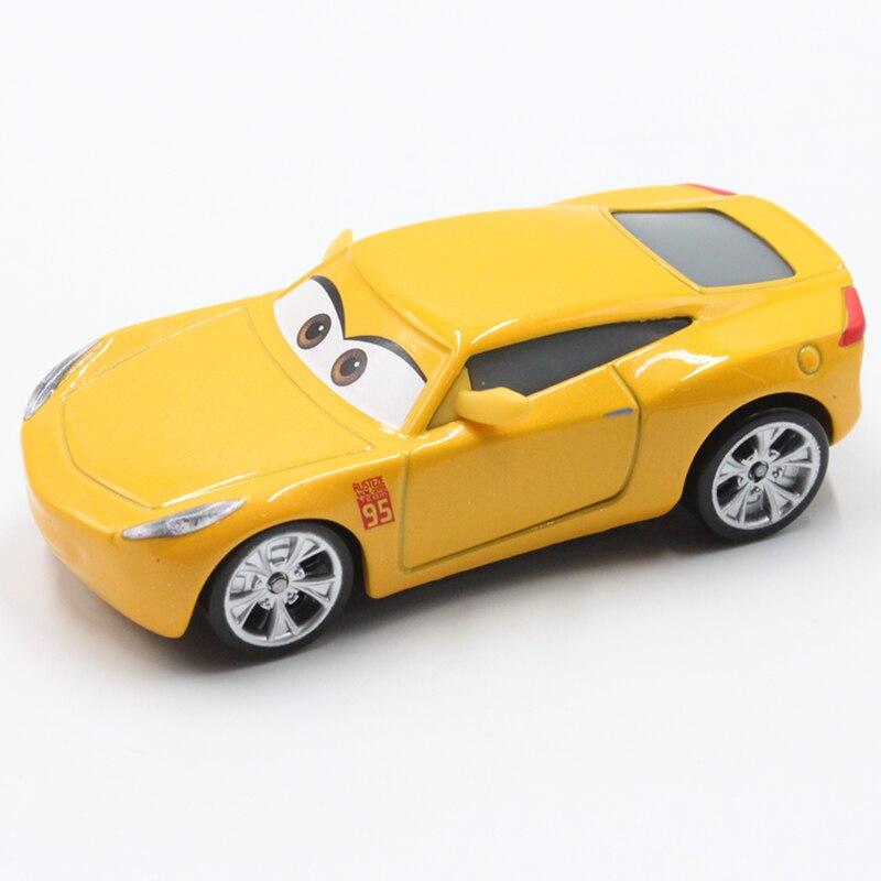 Disney Pixar Cars 3 Cruz Ramirez 1:55 Scale Mini Cars Model Toys For Children Birthday Gifts New