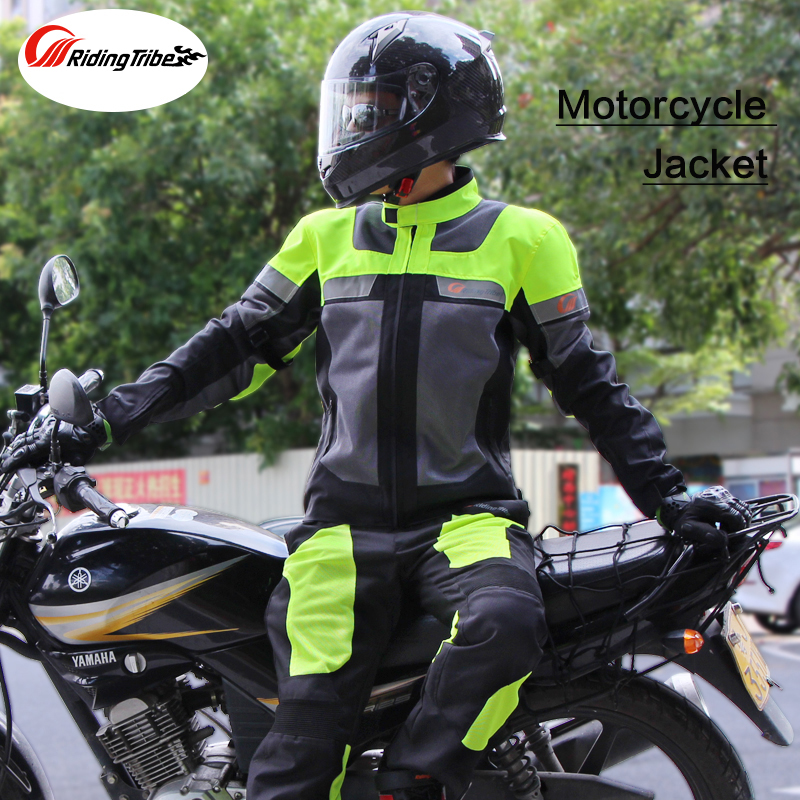 Riding Tribe Windproof Motorcycle Protective Jacket Cold-proof Moto Jacket Men Oxford Cloth Street Bike Racing Motorcycle Jacket