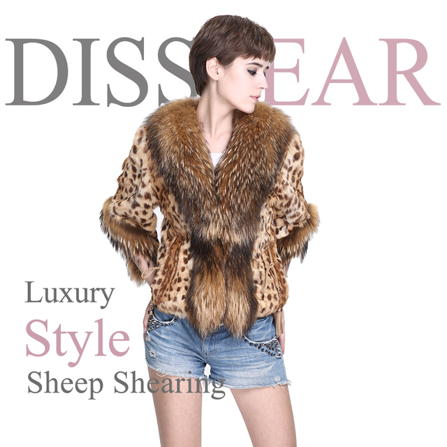 Fashion Raccoon Fur Coat Women Winter Genuine Leather Fur Jackets Overcoat Natural Raccoon Collar Real Fur Coats Female Poncho