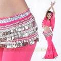 2016 новый 338 монеты пояса танцульки живота усугубляется Yaolian оригинальный танец живота костюмы танец живота талия цепи 15 цветов