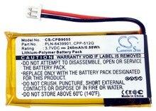Cameron Sino 240 mAh Bateria para Plantronics C65, CS351, CS361, CS50, CS510, CS520, CS55, CS65, HL10, Savi 410/420/710/720, WH300, WH350