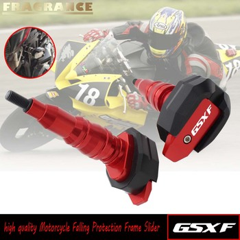 for SUZUKI GSXF GSX600F GSX750F GSX 6 Falling Protection Frame Slider Fairing Guard Anti Crash Pad Protector image