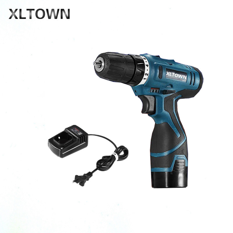 Xltown new 16.8v  rechargeable lithium battery durable electric screwdriver power tool Strong power screwdriver Cordless drill
