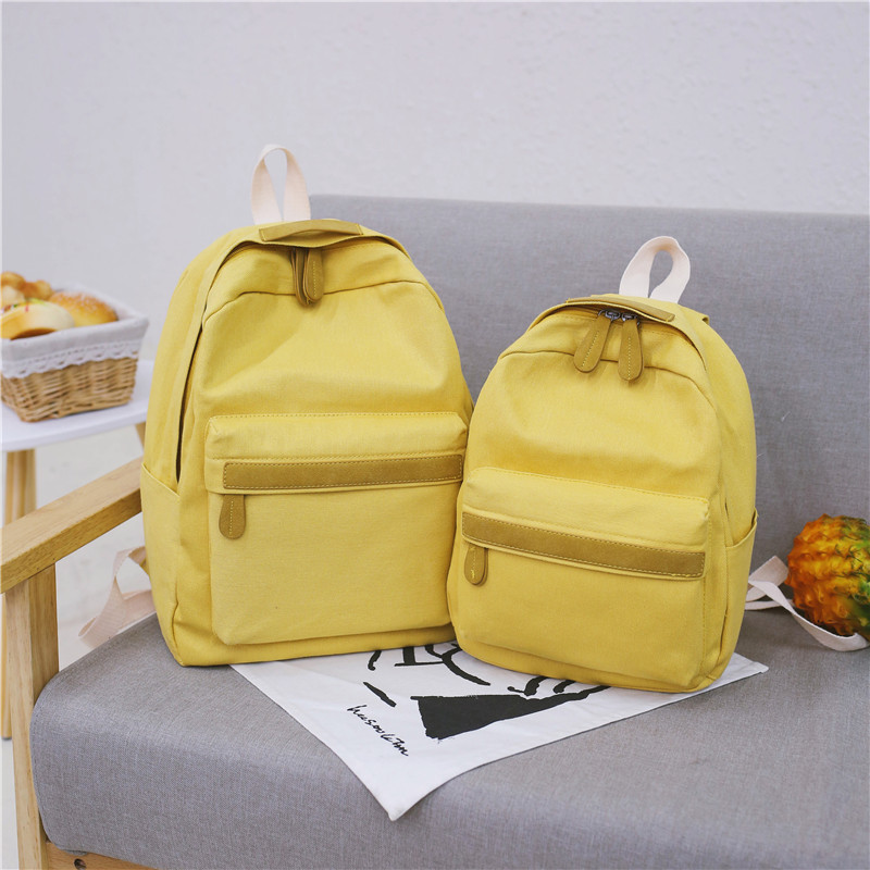 HTB17IesXIrrK1RjSspaq6AREXXak 2019 Women Canvas Backpacks Ladies Shoulder School Bag Backpack Rucksack for Girls Travel Fashion Bag Bolsas Mochilas Sac A Dos