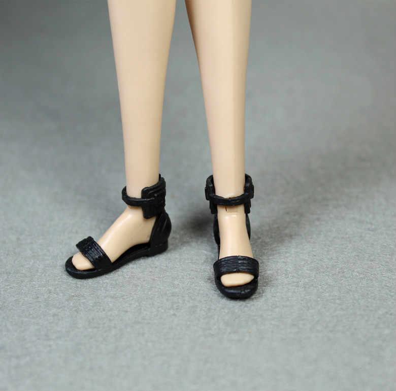 Groothandel Nieuwste Originele 1 paar Pop Schoenen Mode Leuke schoenen voor Barbie Pop schoenen 1/6
