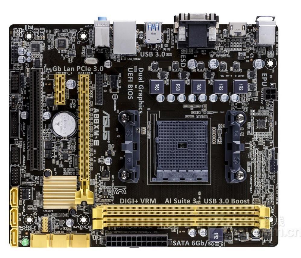 ASUS A88XM-E motherboard FM2/FM2+ DDR3 A88X desktop motherboard mainboard стоимость