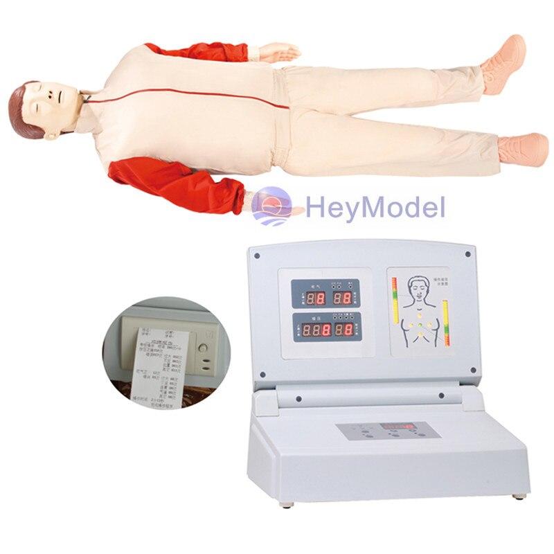 HeyModel CPR480 Avançado Totalmente Automático Eletrônico CPR Training Manequim de corpo Inteiro