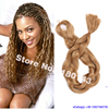 165G Solid Pure Color Honey Blonde Kanekalon Jumbo Braiding Hair Synthetic Cabelo Extensions Xpression female Jumbo Braid Hair