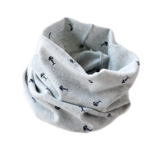 Baby scarf children's 100% cotton scarf autumn spring New style fishbone mustic note pattern boys girls kids scarf-collars(China)