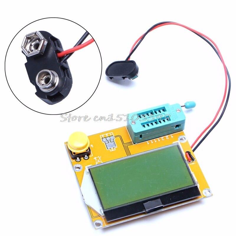 LCR T4 ESR измеритель транзистора тестер диодный Триод Емкость SCR индуктивность Новый Мультиметры      АлиЭкспресс