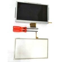 Ersatz Spiel Zubehör Touchscreen Digitizer mit Tools Glas LCD Screen Fit Für Nintendo Wii U Gamepad reparatur teile