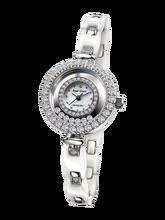6b99f102ca6 Royal Crown joyería reloj 65308C Italia marca diamante Japón MIYOTA cerámica  Feliz Año Nuevo Rhinestone pulsera
