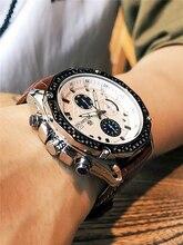 Reloje 2018 MEGIR Men Watch Male Leather Automatic date Quartz Watches Mens Luxury Brand Waterproof Sport Clock Relogio Masculin все цены