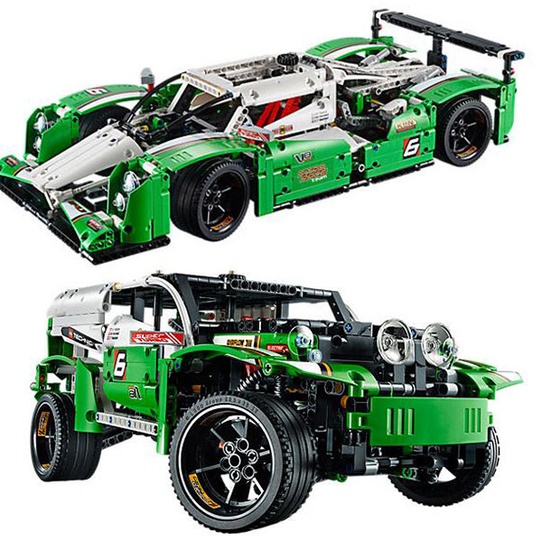 Technic Series 24 Hours Super Race Car 2-In-1 42039 Buliding Blocks 1249pcs Bricks Toys Gift Compatible With Legoings цена