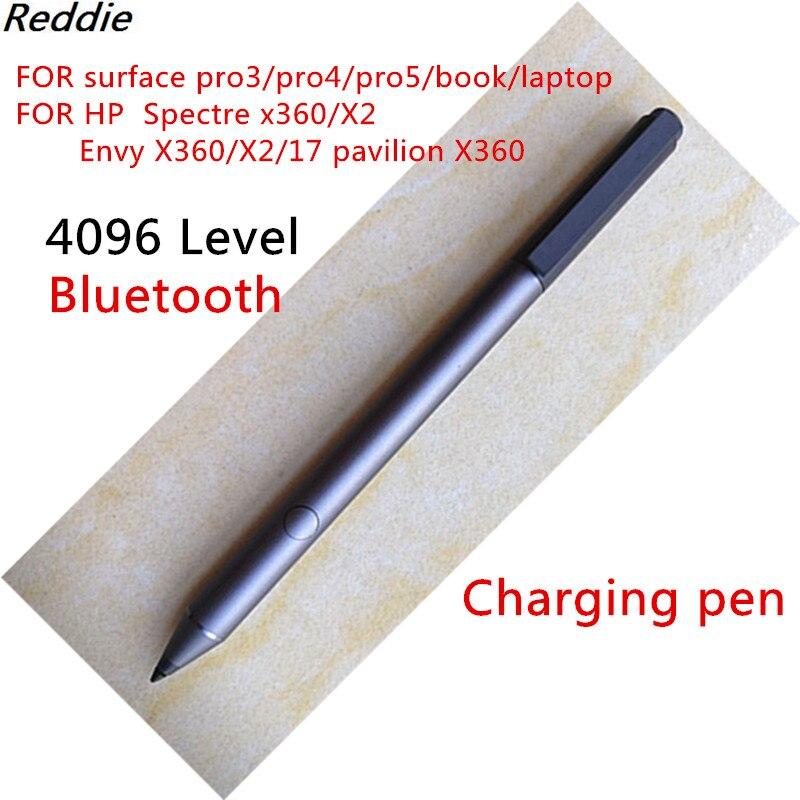 Active Stylus HP Tilt Pen (Microsoft) Spectre X360 X2 ENVY X360 Pavilion X360 Compatible Rechargeable 4096 Stage  2MY21AA