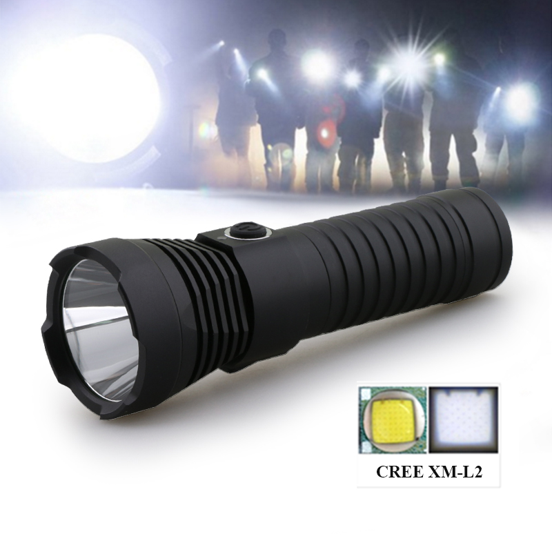 powerful led flashlight usb flash light torch cree xm l2 18650 or 26650battery camping waterproof lanterna lamp linterna zaklamp