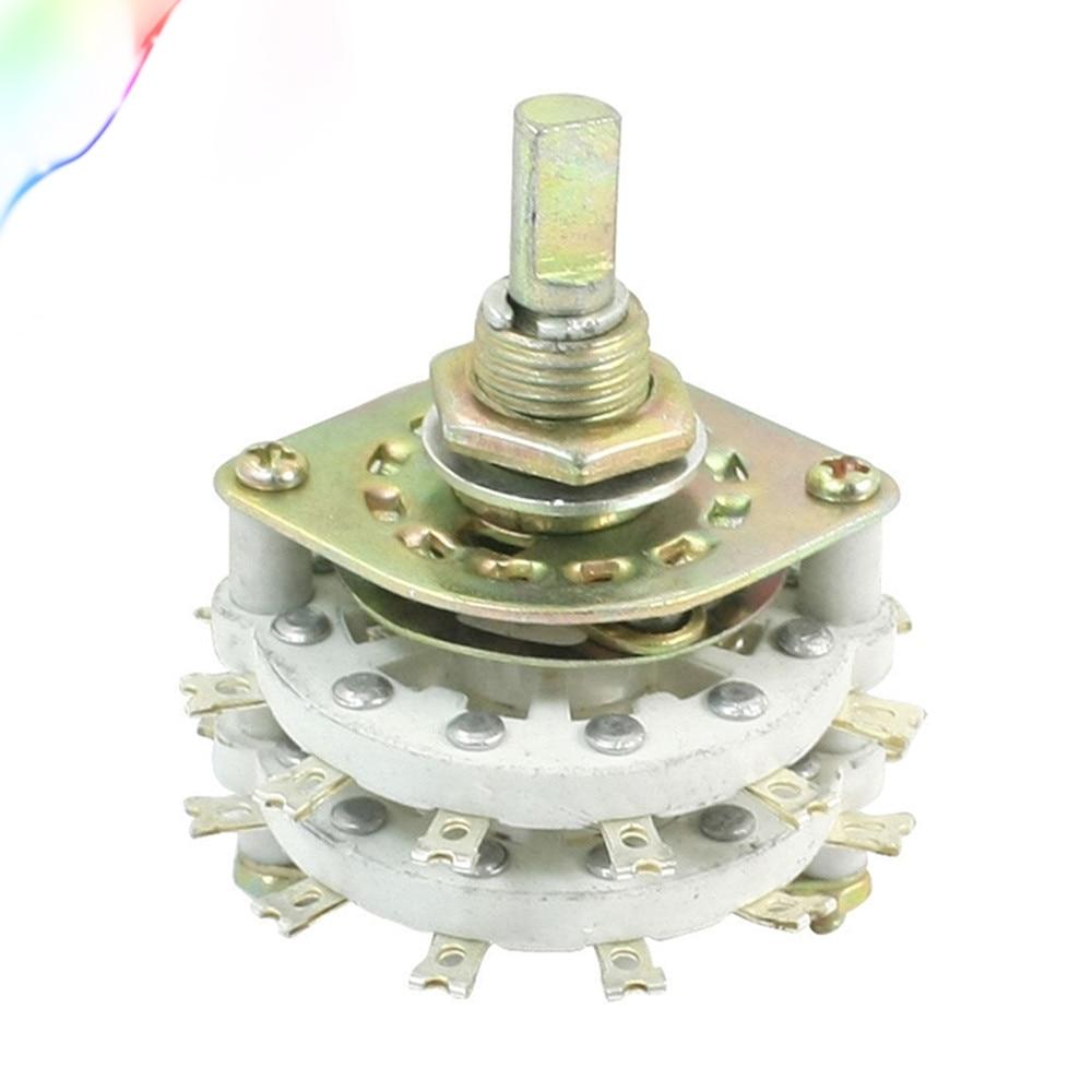 KCZ4 * 5 4P5T двойной палубы 24 контакты поворотный переключатель полосы канала