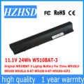 11,1 V 24Wh Original W510BAT-3 batería para portátil Clevo W510LU W510S W515LU 6-87-W510S 6-87-W510S-42F2